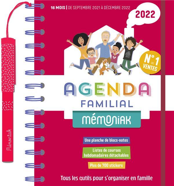 MEMONIAK  -  AGENDA FAMILIAL (EDITION 20212022) COLLECTIF NC