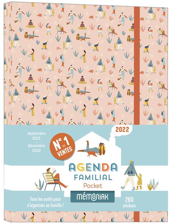 MEMONIAK  -  AGENDA FAMILIAL POCKET (EDITION 20212022) COLLECTIF NC