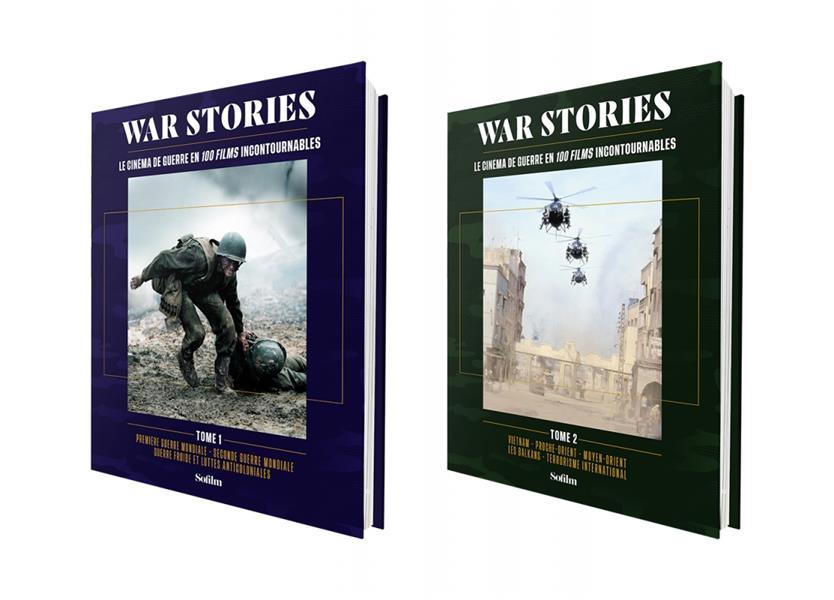 COFFRET WAR STORIES T.1, T.2 : LE CINEMA DE GUERRE