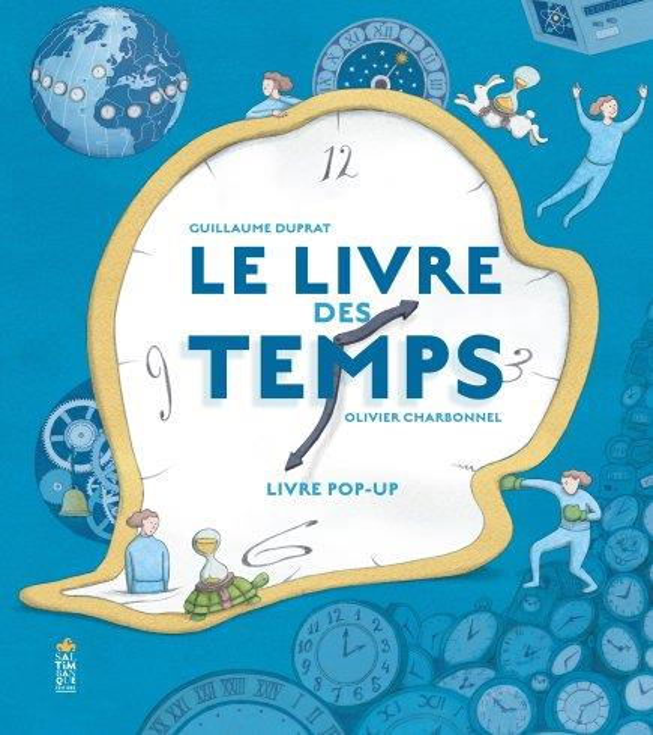 LE LIVRE DES TEMPS DUPRAT/CHARBONNEL SALTIMBANQUE