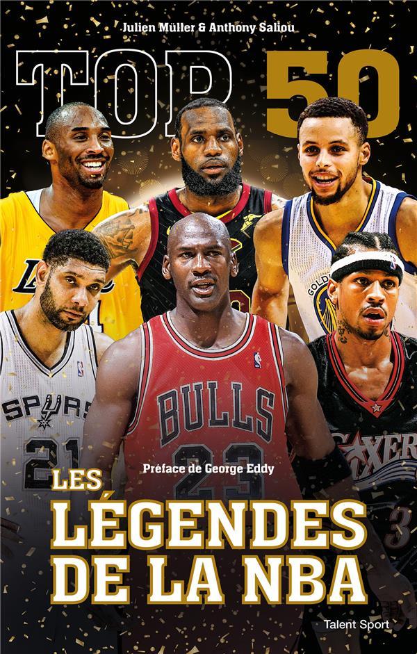 MULLER JULIEN - TOP 50 : LES LEGENDES DE LA NBA