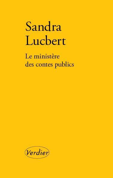 LE MINISTERE DES CONTES PUBLICS