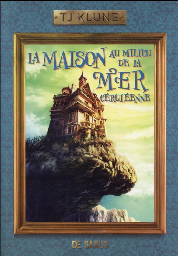 LA MAISON AU MILIEU DE LA MER CERULEENNE (BROCHE)