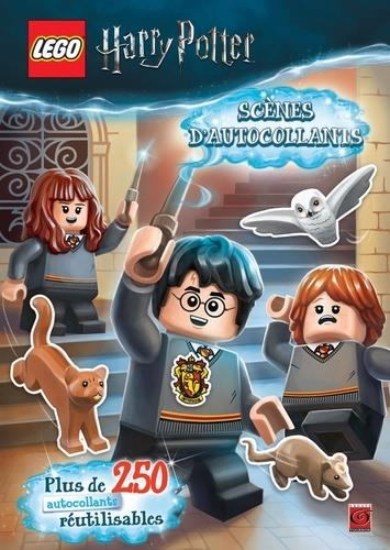 LEGO - HARRY POTTER  -  SCENES D'AUTOCOLLANTS XXX TOURNON CARABAS