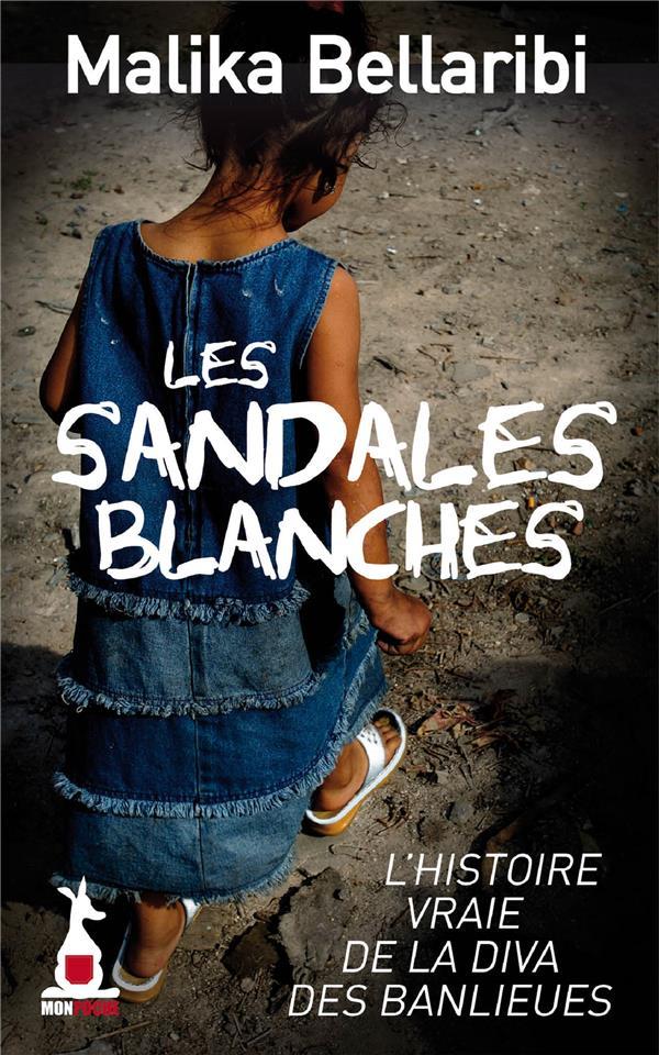 LES SANDALES BLANCHES  MON POCHE