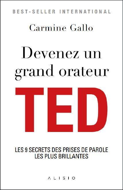 DEVENEZ UN GRAND ORATEUR TED