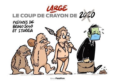 LE COUP DE CRAYON DE 2020 MARC LARGE PASSIFLORE