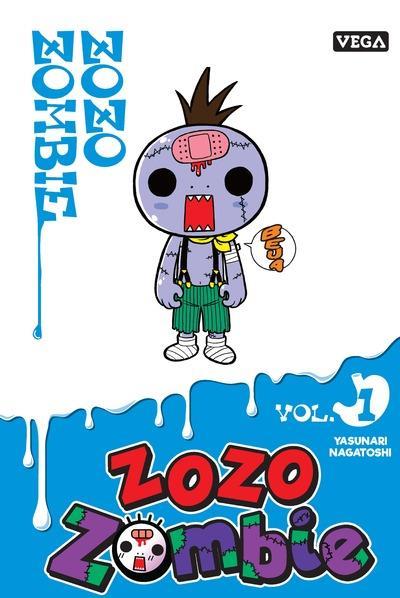 ZOZO ZOMBIE - TOME 1 - VOL01 YASUNARI NAGATOSHI VEGA MANGA