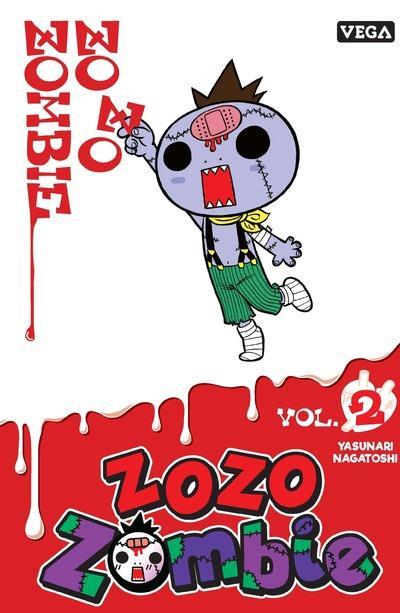 ZOZO ZOMBIE - TOME 2 - VOL02 YASUNARI NAGATOSHI VEGA MANGA