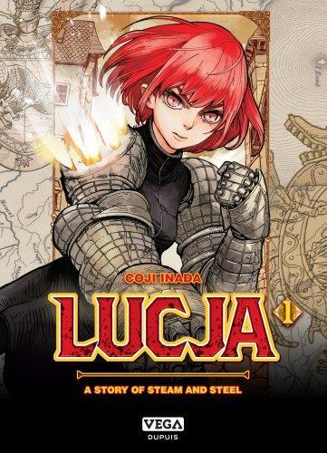 LUCJA, A STORY OF STEAM AND STEEL T.1 INADA, KOJI VEGA MANGA
