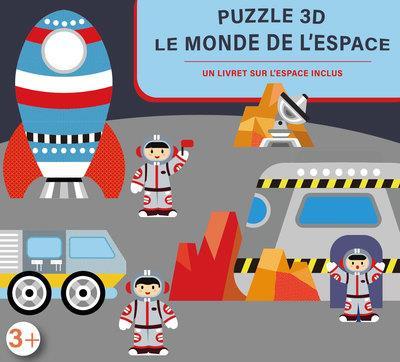 COFFRET PUZZLE 3D : LE MONDE DE L'ESPACE