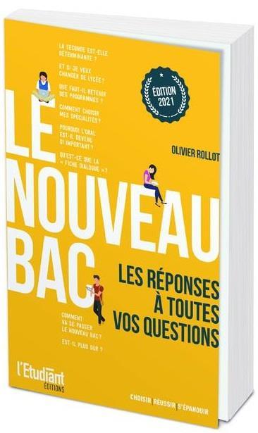 LE NOUVEAU BAC (EDITION 2021) ROLLOT, OLIVIER L ETUDIANT