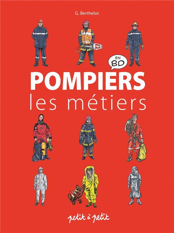 POMPIERS EN BANDE DESSINEE  -  LES METIERS