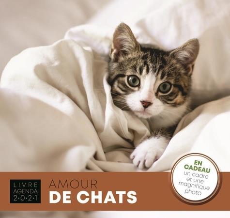 LIVRE-AGENDA  -  AMOUR DE CHATS (EDITION 2021)