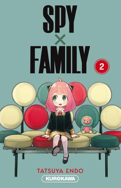SPY X FAMILY T.2 ENDO, TATSUYA 48H BD