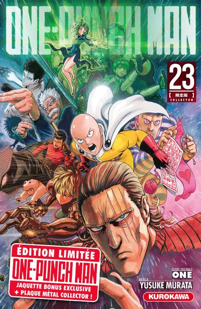 ONE-PUNCH MAN - TOME 23 - COLLECTOR - VOL23 MURATA, YUSUKE  48H BD