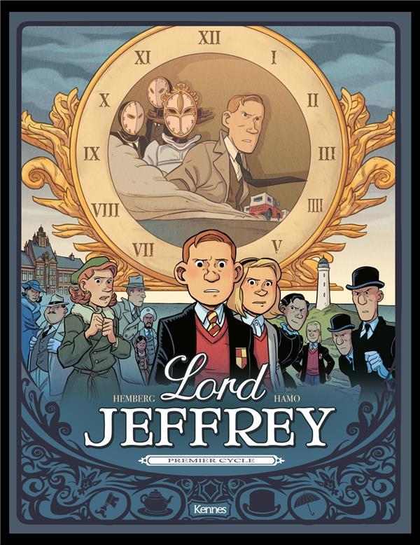 LORD JEFFREY - COFFRET LORD JEFFREY T01 -T03 - LORD JEFFREY T01 -T02 - COFFRET