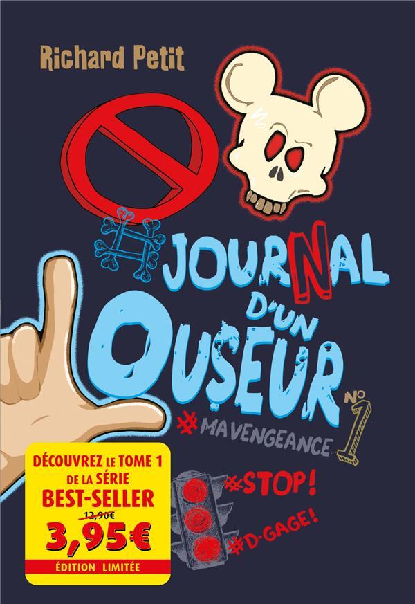 LE JOURNAL D'UN LOUSEUR T.1  -  #MAVENGEANCE PETIT, RICHARD KENNES EDITIONS