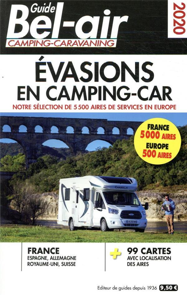 guide Bel-Air évasions en camping-car (édition 2020) DUPARC, MARTINE REGICAMP