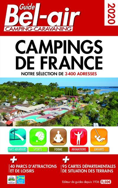 GUIDE BEL-AIR CAMPINGS DE FRANCE (EDITION 2020) DUPARC, MARTINE REGICAMP