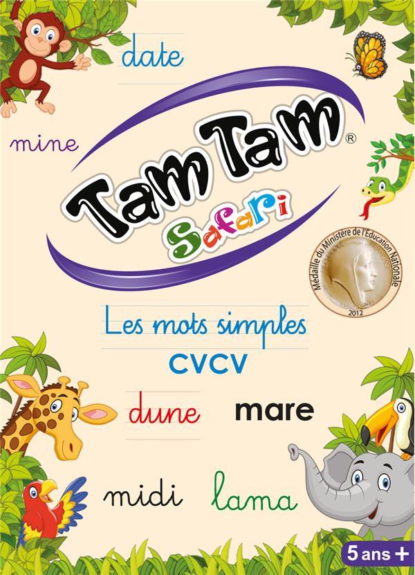 TAM TAM SAFARI LES MOTS SIMPLES - CP - JOUET COSTANTINI F AB LUDIS