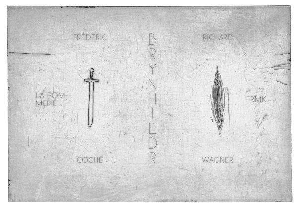 BRYNHILDR : UN OPERA DESSINE D'APRES DER RING DES NIBELUNGEN COCHE FREDERIC/WAGNE FREMOK