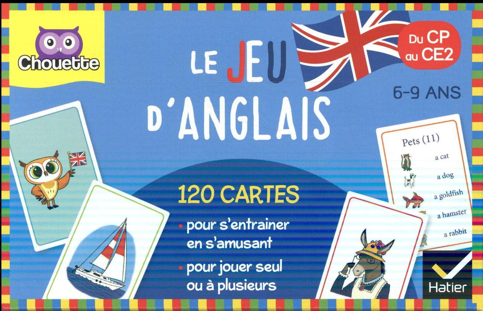 LE JEU D'ANGLAIS CP-CE2
