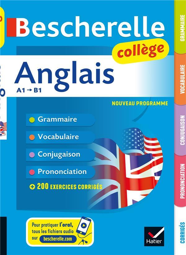 BESCHERELLE  -  ANGLAIS COLLEGE BIGNAUX/ROTGE HATIER SCOLAIRE