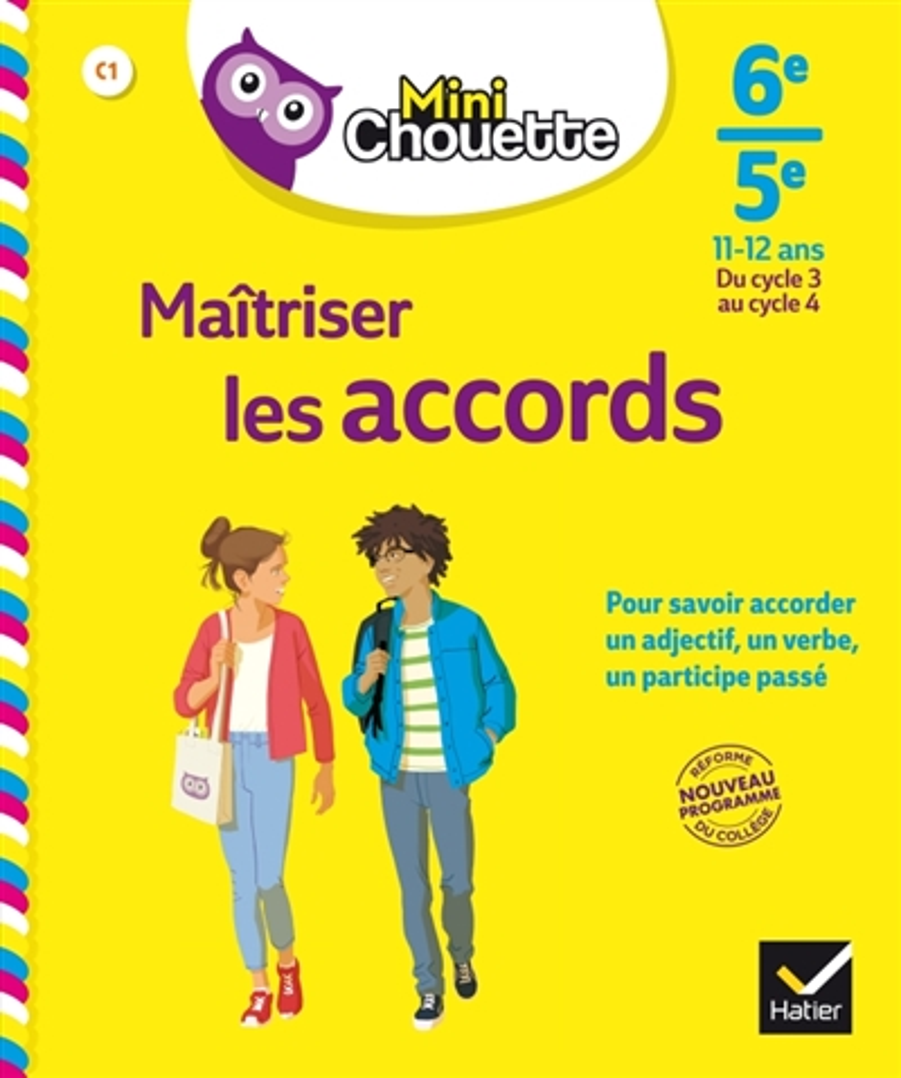MINI CHOUETTE MAITRISER LES ACCORDS 6E/ 5E