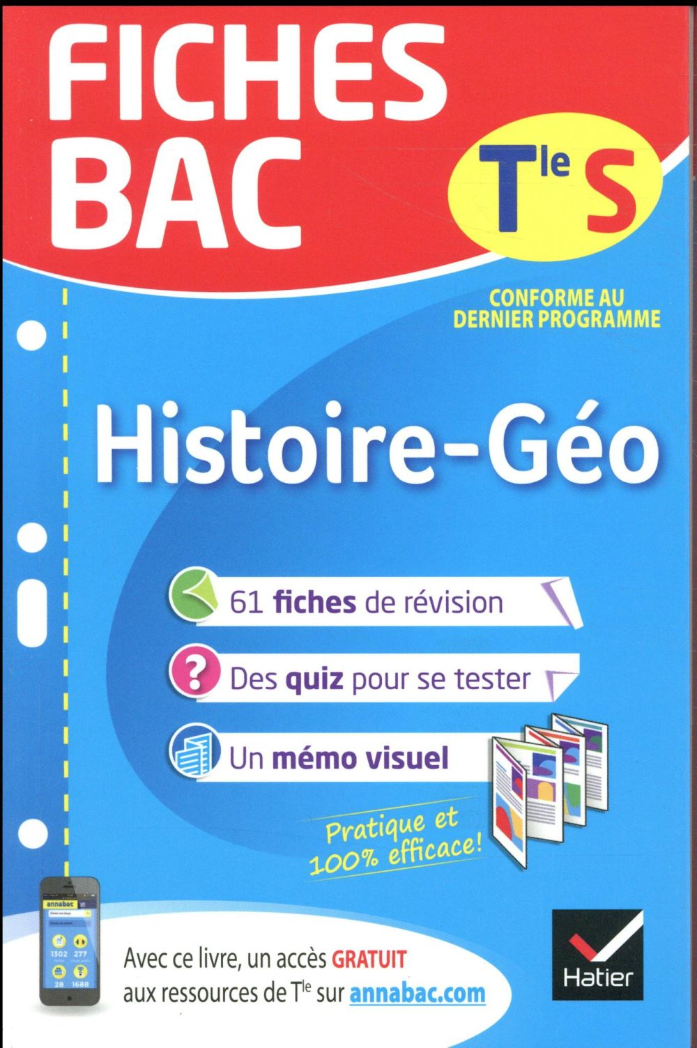 FICHES BAC HISTOIRE-GEOGRAPHIE TLE S  HATIER SCOLAIRE