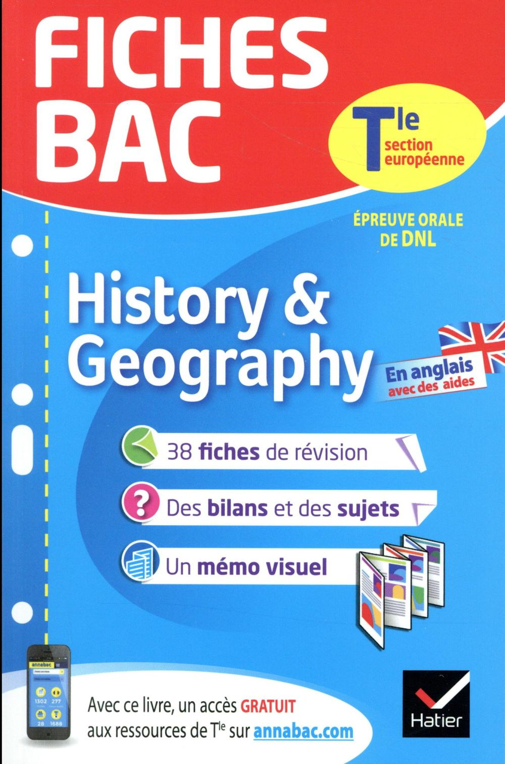 - FICHES BAC HISTORY & GEOGRAPHY TLE SECTION EUROPEENNE - FICHES DE REVISION  TERMINALE SECTION EUROP