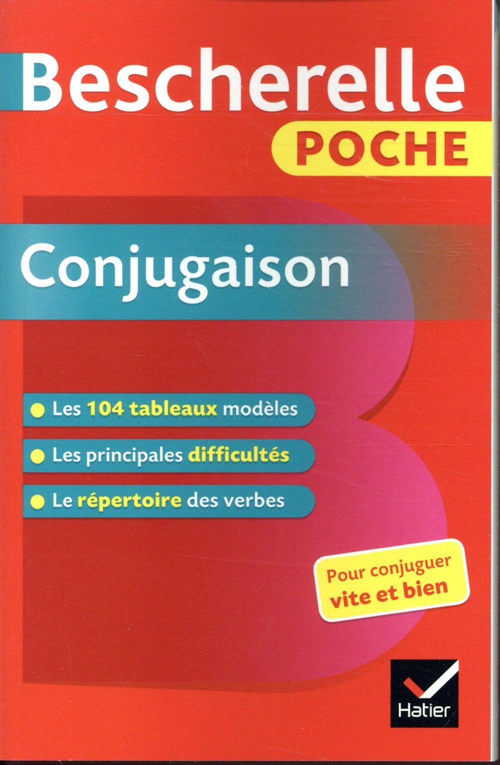 XXX - BESCHERELLE  -  POCHE CONJUGAISON