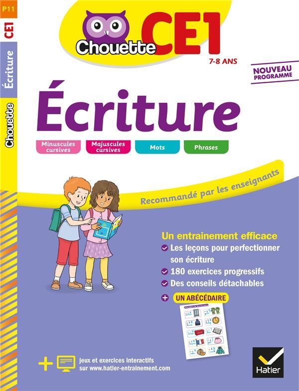 CHOUETTE ENTRAINEMENT  -  ECRITURE  -  CE1 GUION/MECKERT HATIER SCOLAIRE