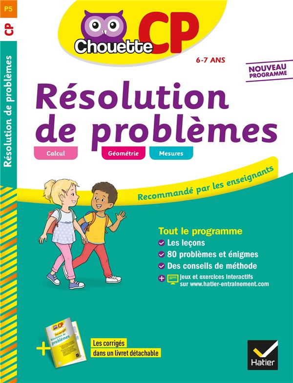 RESOLUTION DE PROBLEMES CP