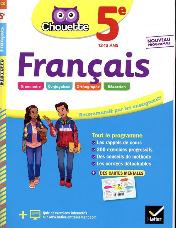 FRANCAIS 5E - CAHIER D'ENTRAINEMENT ET DE REVISION