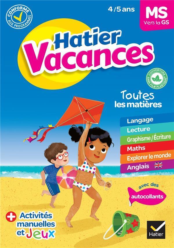 DOUTREMEPUICH - HATIER VACANCES  -  MS VERS LA GS (EDITION 2020)