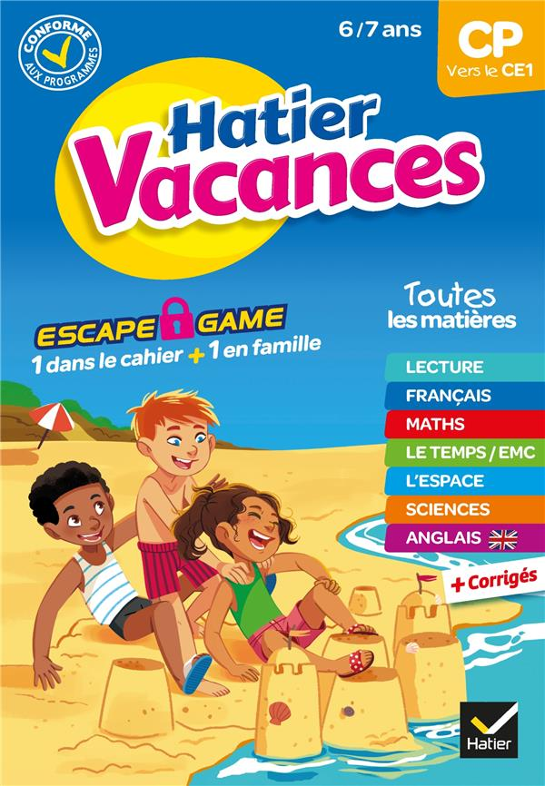 IDIARD/CHENOT - HATIER VACANCES  -  CP VERS LE CE1 (EDITION 2020)