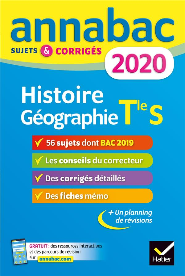 RENAUD, JEAN-PHILIPPE - ANNABAC  -  HISTOIRE GEOGRAPHIE  -  TERMINALE S