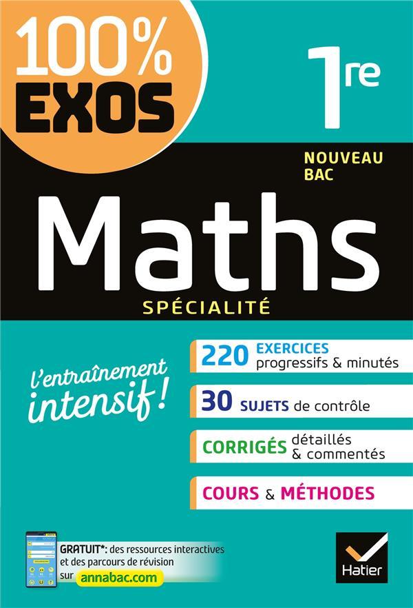 BARACHE/BAUER - MATHS (SPECIALITE) 1RE - EXERCICES RESOLUS - PREMIERE