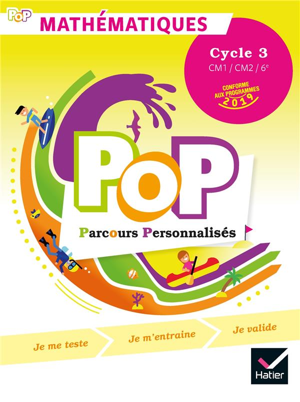 POP - MATHS CYCLE 3 ED. 2019 - LIVRE DE L'ELEVE