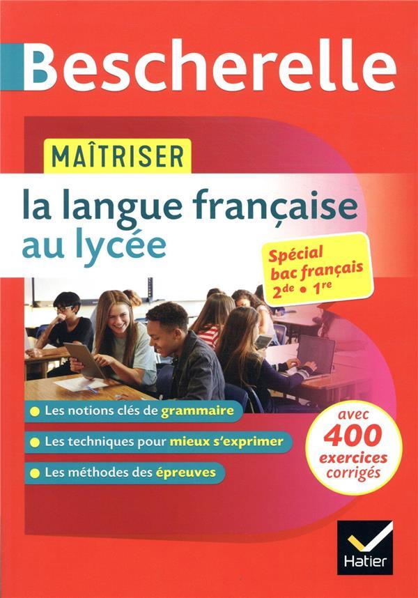 MAITRISER LA LANGUE FRANCAISE GIRARD/CHARTRAIN HATIER SCOLAIRE
