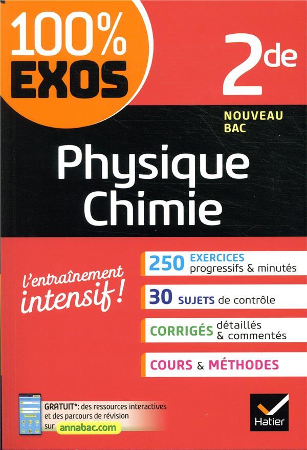 100% EXOS  -  PHYSIQUE-CHIMIE  -  2NDE BENGUIGUI/BROSSARD HATIER SCOLAIRE