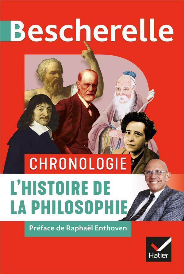 CHRONOLOGIE  -  L'HISTOIRE DE LA PHILOSOPHIE DECAIX/GUYOMARC-H HATIER SCOLAIRE