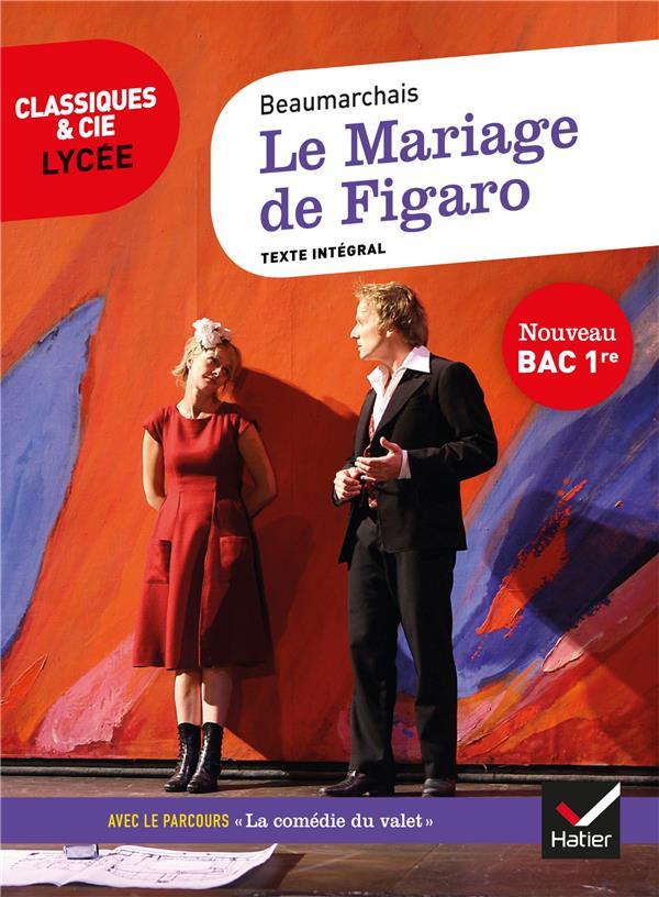 LE MARIAGE DE FIGARO (BAC 2020) - SUIVI DU PARCOURS  LA COMEDIE DU VALET CARON DE BEAUMARCHAI HATIER SCOLAIRE