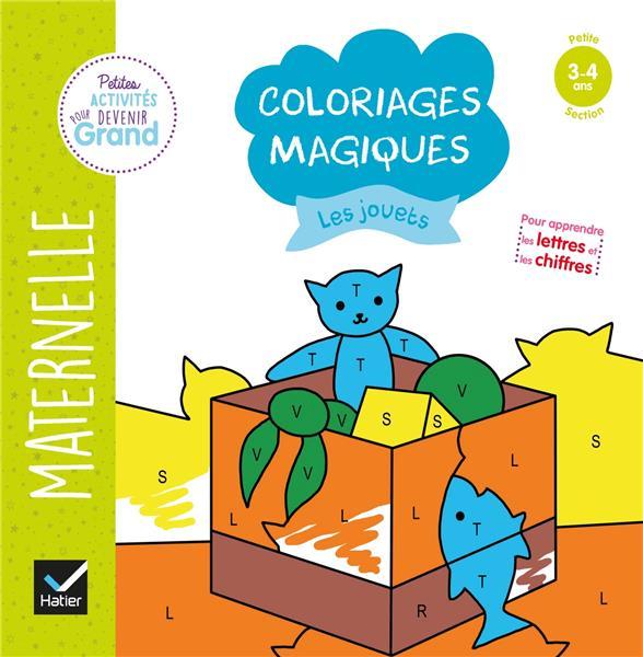 COLORIAGES MAGIQUES  -  LES JOUETS