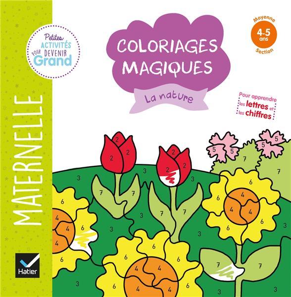 COLORIAGES MAGIQUES  -  LA NATURE
