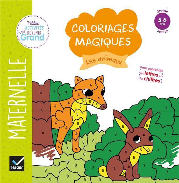 COLORIAGES MAGIQUES  -  LES ANIMAUX
