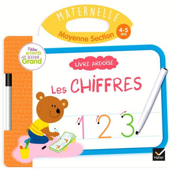 LIVRE ARDOISE  -  MS  -  LES CHIFFRES