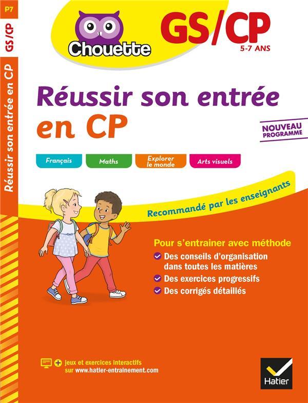CHOUETTE ENTRAINEMENT  -  REUSSIR SON ENTREE EN CP
