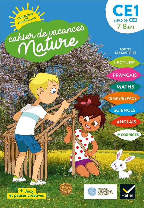 CAHIER DE VACANCES NATURE  -  DU CE1 VERS LE CE2